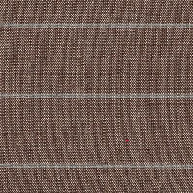 L10.19 Leinen Streifen braun hell