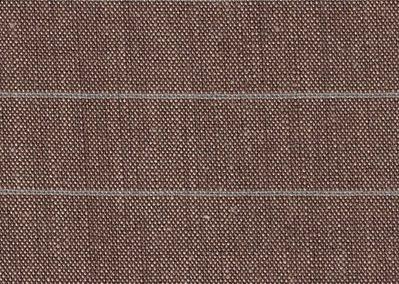 L16.19 Leinen Streifen Braun/Denim
