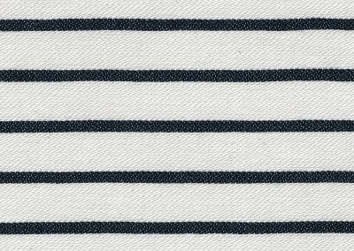 Bretonische Streifen Weiß-Blau